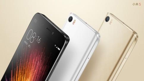 Xiaomi trình làng Mi 5 màn hình 5,2 inch, camera 16 'chấm'