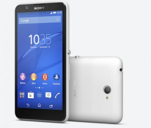 Xperia E4 - smartphone 5 inch rẻ nhất của Sony về Việt Nam