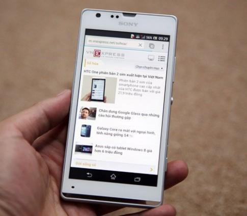 Xperia SP smartphone tầm trung mới từ Sony