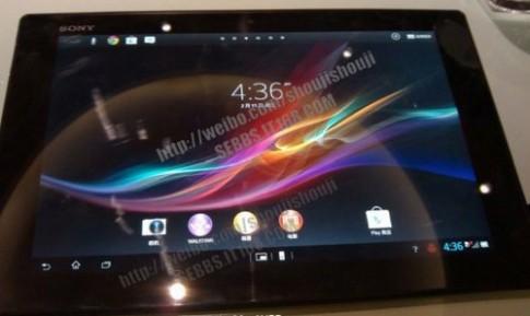 Xperia Tablet Z có giao diện sử dụng đẹp mắt