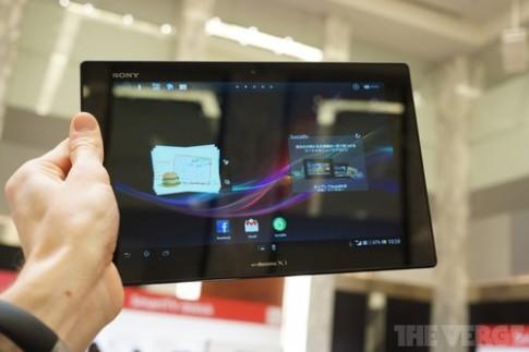 Xperia Tablet Z giá bằng iPad 4 bản Wi-Fi