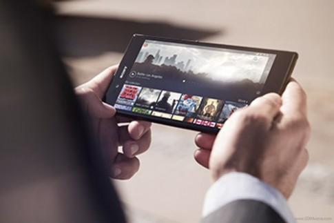 Xperia Z Ultra 6,4 inch siêu mỏng, hỗ trợ cảm ứng bằng bút chì