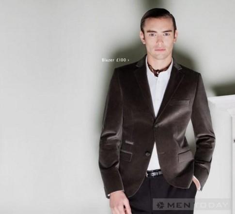 "Xu hướng áo vest nam BST ""Suit up"" củaTopman"