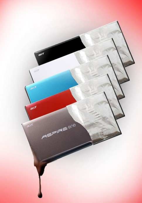 Xu hướng 'candy' trong thiết kế netbook của Acer