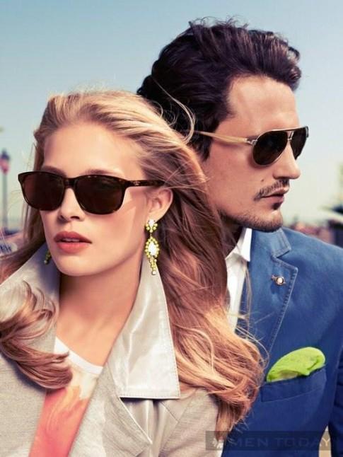 Xu hướng kính mắt nam hè 2013 từ các thương hiệu lớn