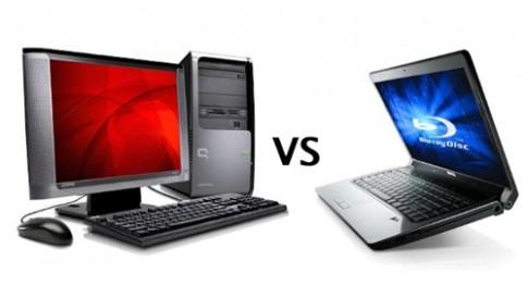 Xu hướng laptop thay máy để bàn
