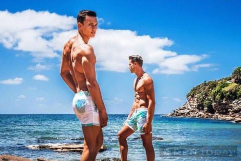 Xu hướng quần bơi nam: Họa tiết lên ngôi