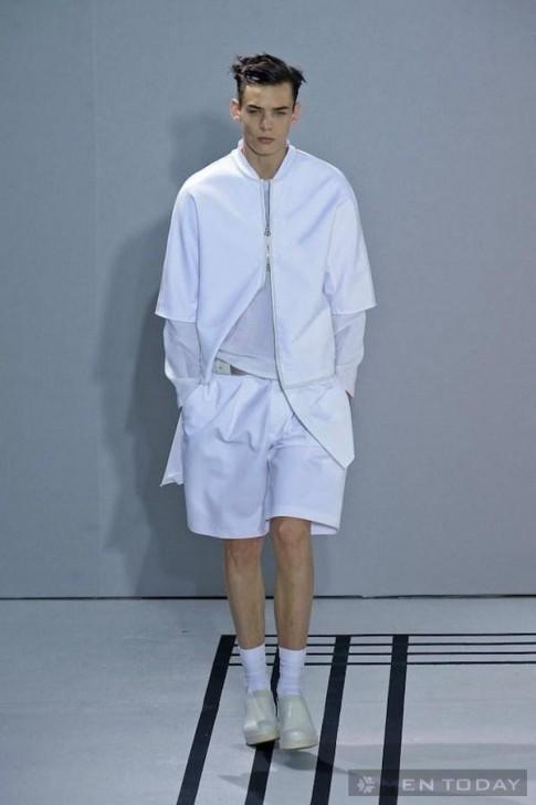 Xu hướng thời trang nam Xuân Hè 2013: Áo khoác không kết cấu