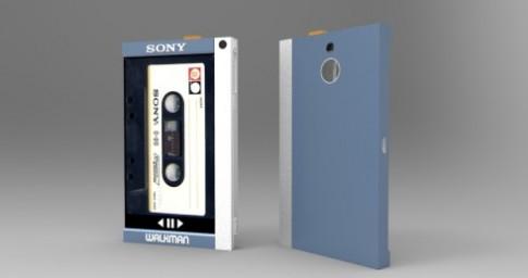 Ý tưởng điện thoại có kiểu dáng như máy Sony Walkman