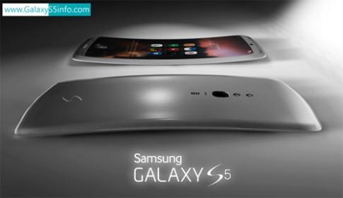 Ý tưởng Galaxy S5 màn hình cong với bốn loa