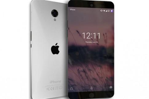 Ý tưởng iPhone 7 với thiết kế không viền màn hình