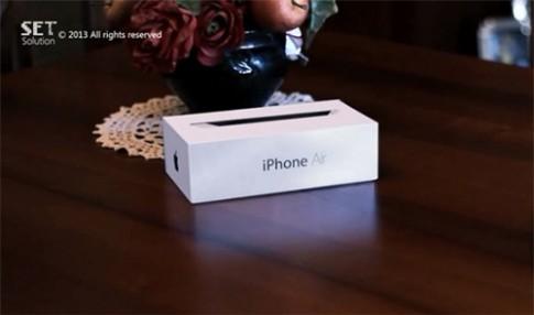 Ý tưởng iPhone Air siêu mỏng