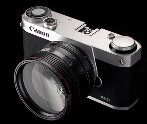 Ý tưởng máy ảnh mirrorless của Canon