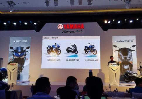Yamaha R3, NM-X và FZ150i đồng loạt tăng giá