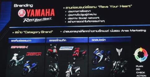 Yamaha ra mắt 4 mẫu xe hoàn toàn mới vào năm 2016