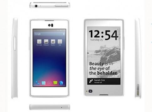 YotaPhone - điện thoại 2 màn hình LCD và e-ink