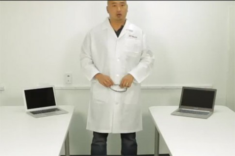 Zenbook Prime so phần cứng với MacBook Air
