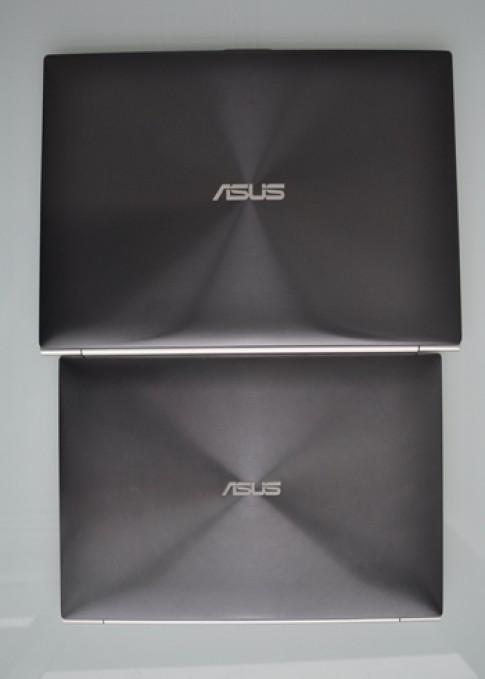 Zenbook UX21 và UX31 so dáng