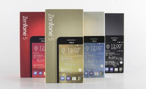 Zenfone 5 màu đỏ và vàng xuất hiện tại VN