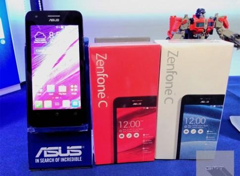 Zenfone C màn hình 4,5 inch sẽ thay thế Zenfone 4