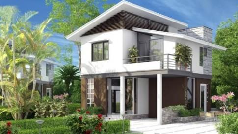 10 mẫu thiết kế nhà 1 tầng trệt 1 tầng lầu siêu đẹp
