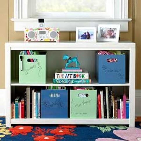 10 ý tưởng tủ sách phòng trẻ