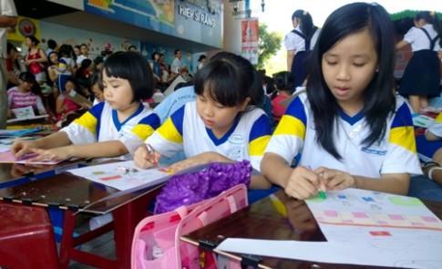 1.500 nhóc tỳ so tài hội họa