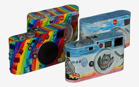 2 máy ảnh Leica được làm mới từ thiết kế của học sinh tiểu học