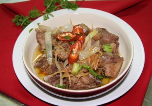 3 món chế biến từ thịt vịt ngon cơm