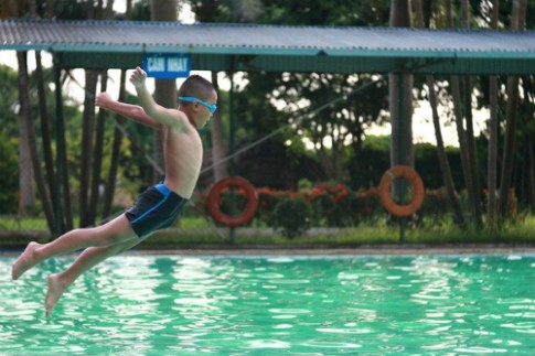 5 môn thể thao giúp trẻ phát triển chiều cao