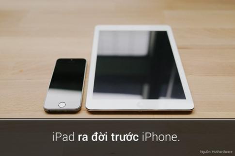 5 sự thật thú vị đến bất ngờ của iPad