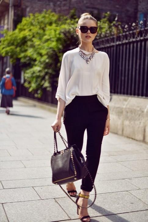 6 lưu ý mặc đồ tôn dáng cho quý cô chân ngắn lưng dài