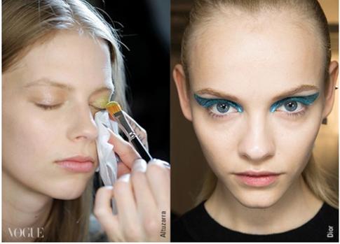 7 mẹo trang điểm mắt-môi nhũ mới toanh cho những ngày lễ hội