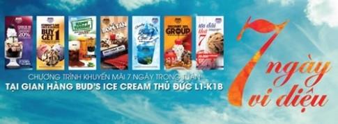 7 ngày vi diệu tại Bud's Ice Cream