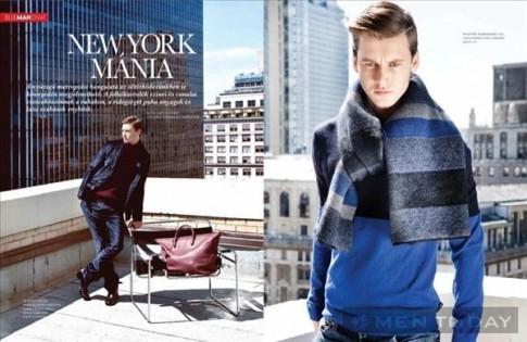 Alfred Kovac – Chàng trai mùa thu trẻ trung trên Elle