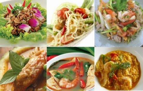 Ăn buffet trưa Thái tại nhà hàng Lẩu Coca Suki