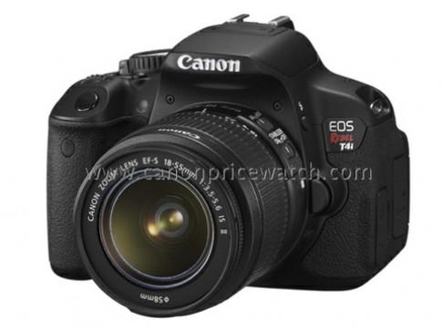 Ảnh Canon 650D và ống fix 40 mm siêu mỏng xuất hiện