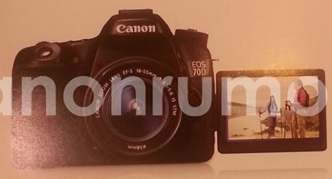 Ảnh Canon 70D tích hợp Wi-Fi, cảm biến 20,2 'chấm'