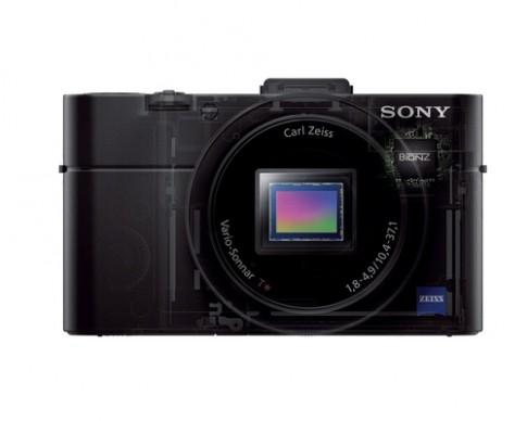 Ảnh chính thức Sony RX100 II