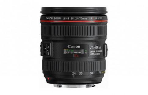 Ảnh ống kính Canon 24-70 và 35 mm f/2 có IS xuất hiện
