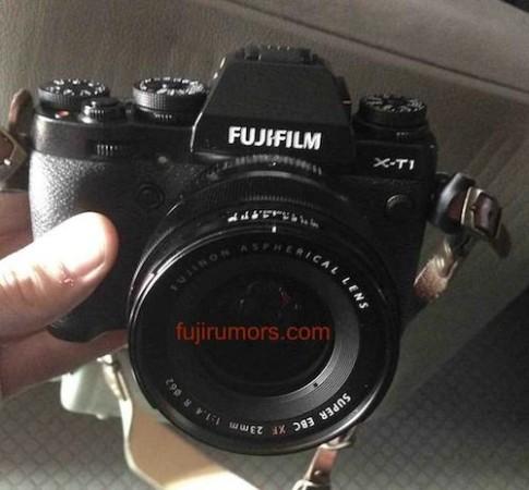 Ảnh rò rỉ máy ảnh Fujifilm X-T1