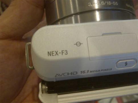 Ảnh Sony NEX-F3 xuất hiện