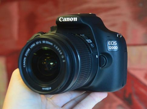 Ảnh thực tế Canon EOS 1200D