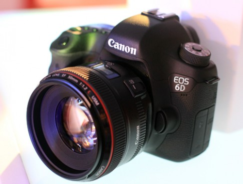 Ảnh thực tế Canon EOS 6D tại Việt Nam