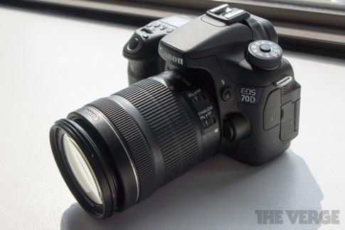 Ảnh thực tế Canon EOS 70D và so sánh với 60D