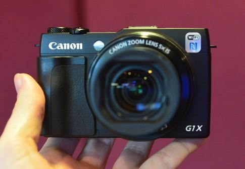 Ảnh thực tế Canon G1 X Mark II và EOS 1200D