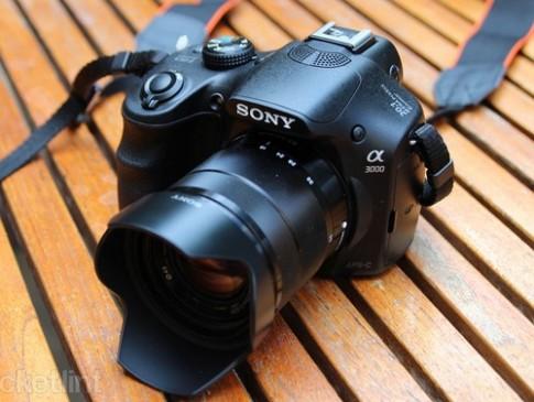 Ảnh thực tế máy ảnh Sony Alpha A3000