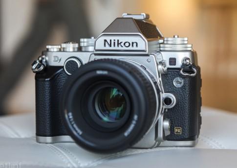 Ảnh thực tế Nikon Df dáng cổ điển