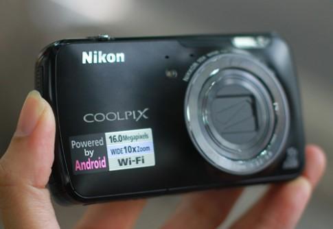Ảnh thực tế Nikon S800c tại Việt Nam