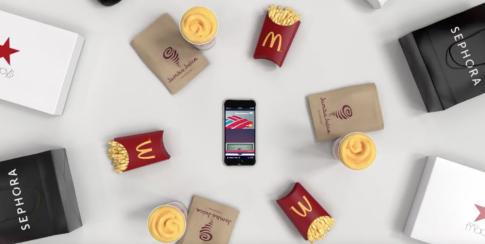 Apple tung quảng cáo với hàng hiệu và thức ăn nhanh trong chiếc ví Apple Pay